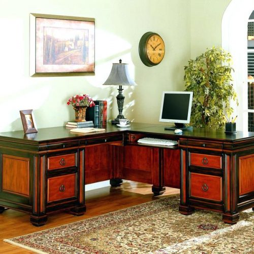 meja kator minimalis jati model desain l murah, meja kantor jati, meja kantor minimalis, jual meja kantor murah, harga meja kantor jati,