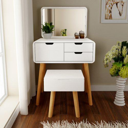 meja rias minimalis modern putih terbaru 2020, meja rias minimalis, meja rias modern, meja rias putih, meja rias terbaru, meja rias unik, jual meja rias, meja rias murah, harga meja rias