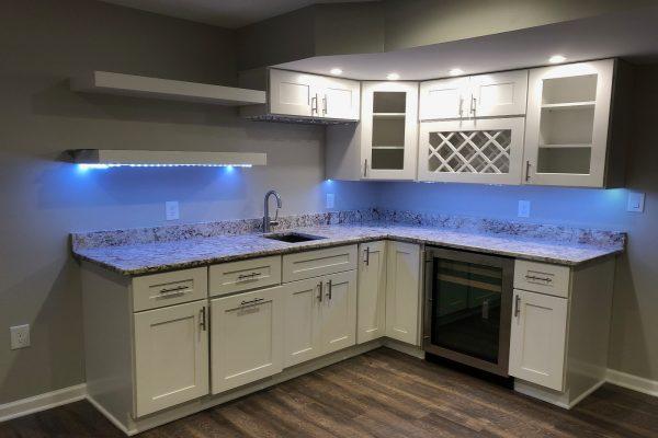 Model Lemari Dapur Ukuran Kecil Warna Putih Sobat Furniture