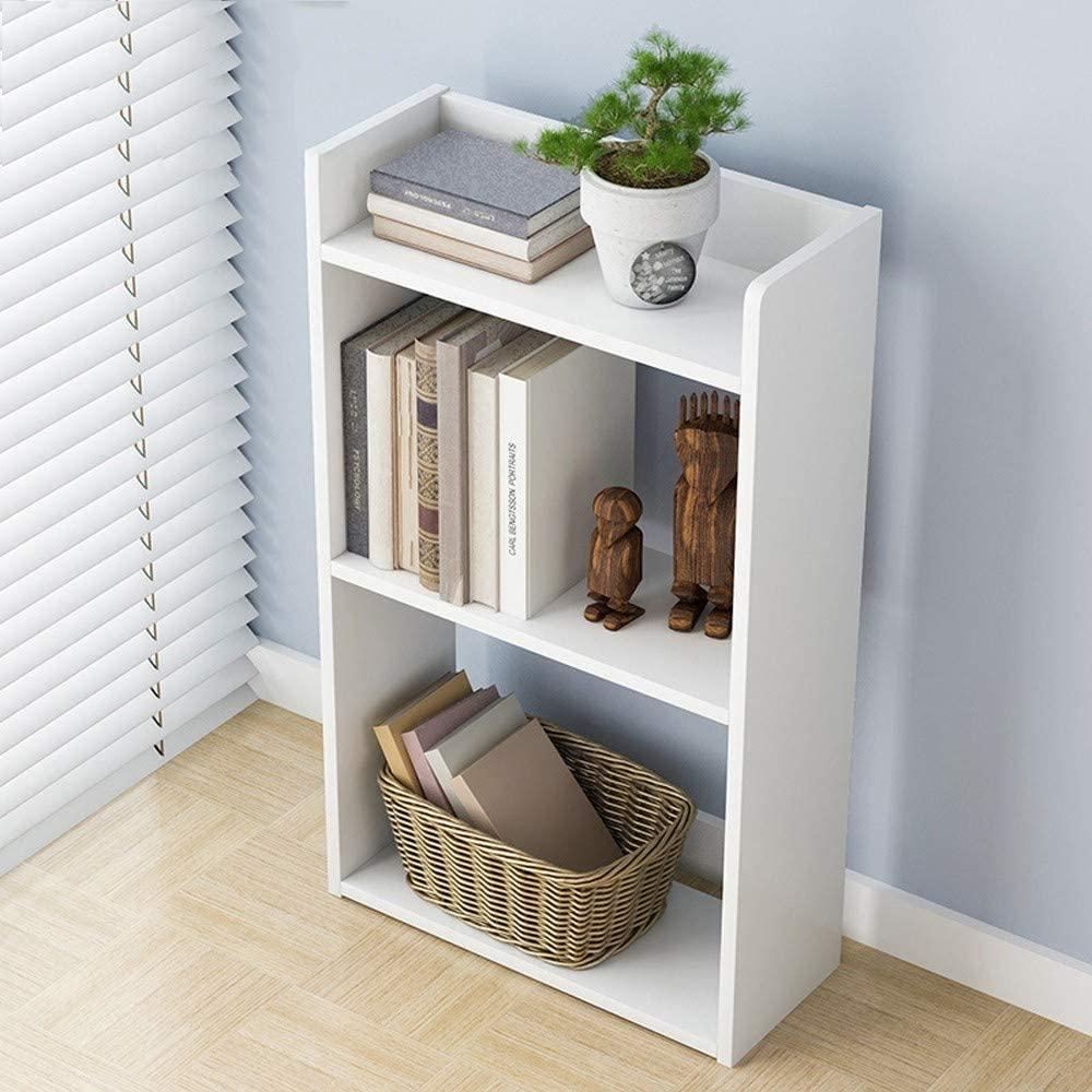 Jual rak buku kayu Desain Terbaru - Sobat Furniture